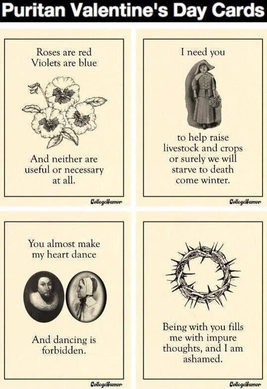 Skönt att det inte var den här bilden som framträdde i Jacobs erfarenhet. Några puritanska alla hjärtans dagkort...