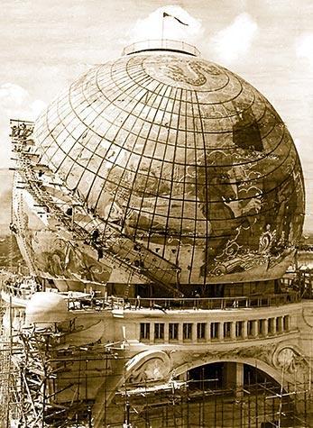 Jorden, från världsutställningen någonstans någongång.