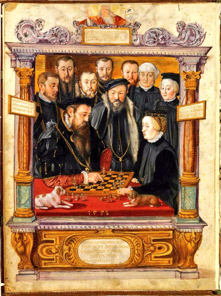 Schackspel. Spelar man mycket blir man bra på... schack.