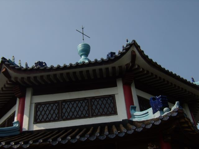 Kors på templets tak!