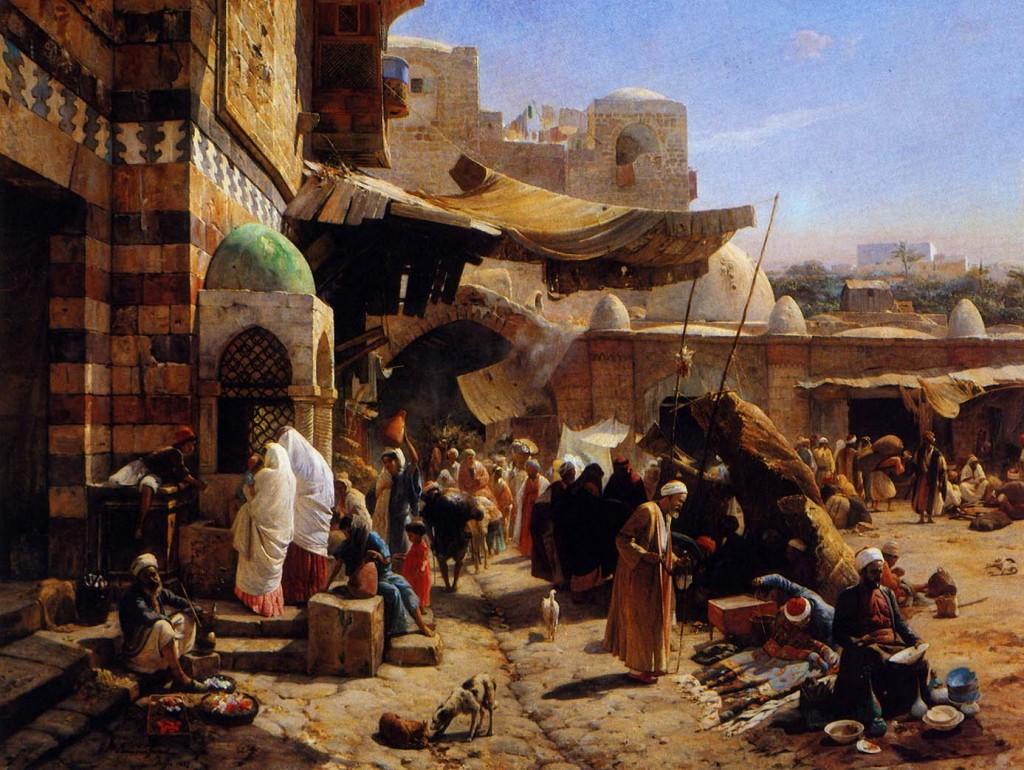 Palestina när det begav sig såg kanske ut ungefär såhär?