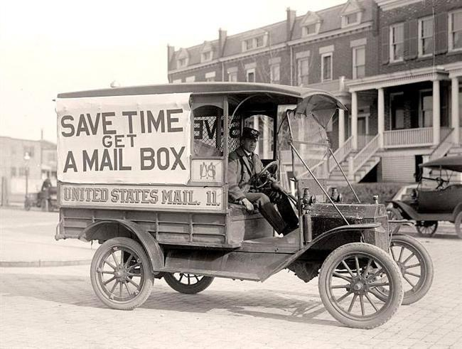 Är det brevlåda man behöver vid tidens slut?