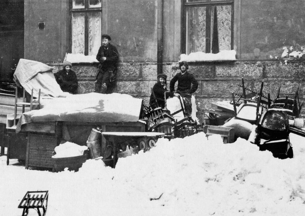 Mitt i vintern var det. Fast mer snö här än i det heliga landet va?