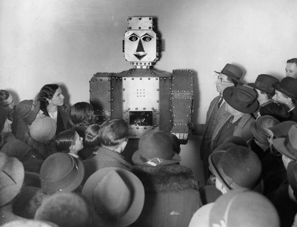 En robot kan nog inte bana väg för Herren, den har ju inget hjärta själv.