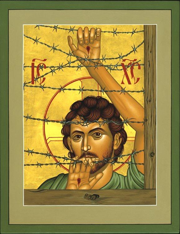 Jesus i flyktingläger