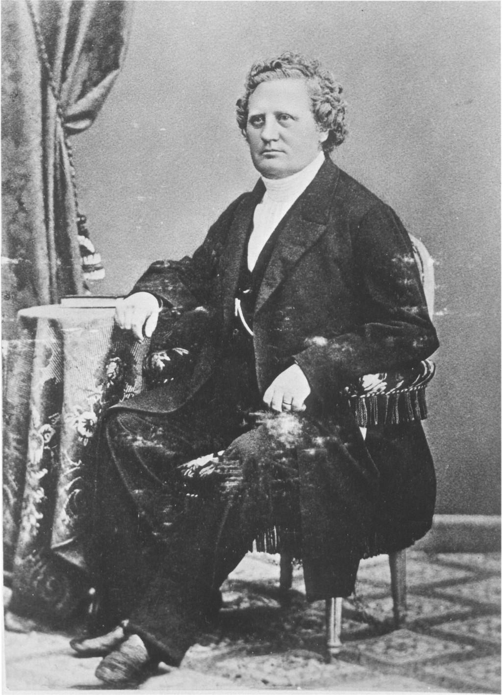 Carl Olof Rosenius på stol