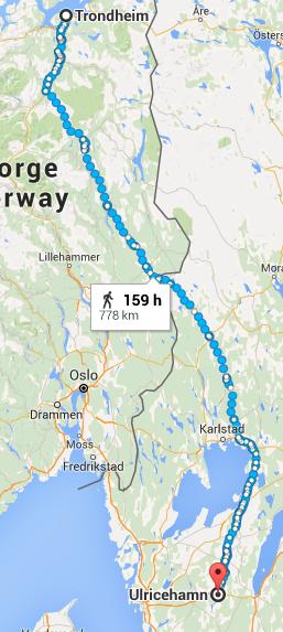 Vägen till Trondheim
