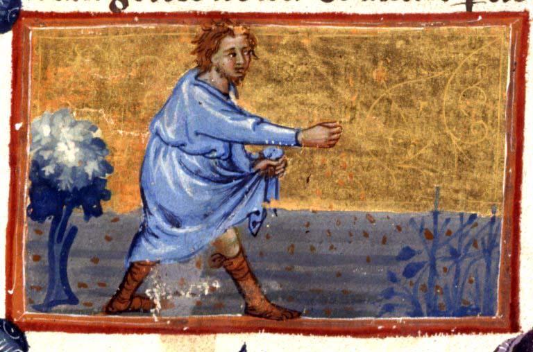 Mannen som sår i Jesu liknelse. Är han en bloggare?