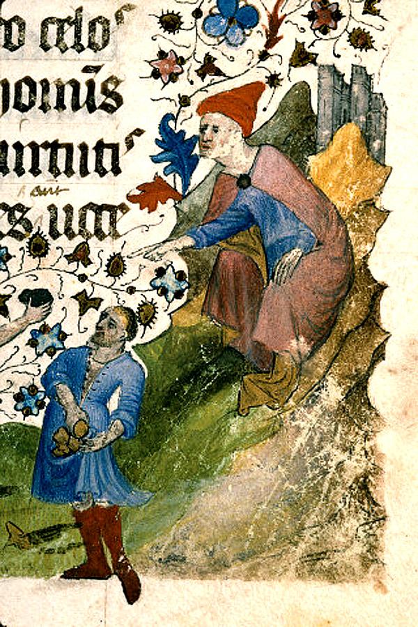 Saulus pekar finger. Bra för ödmjukheten med motgångar?