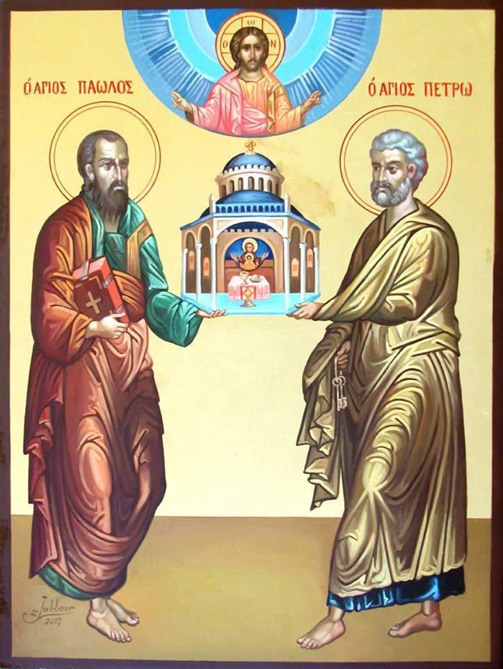 Petrus och Paulus ser klart hur Kyrkan ska vara.