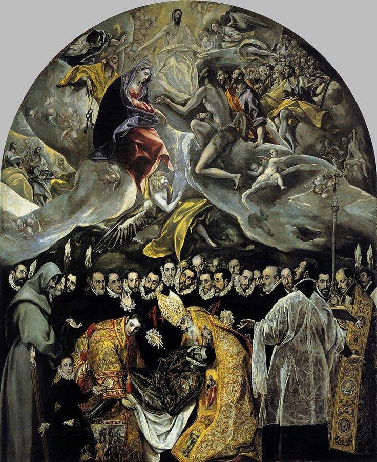 En sorgsen begravning för en mäktig person sker på jorden. I himlen har alla blickarna på Jesus och ingen sorg ska vara mer.