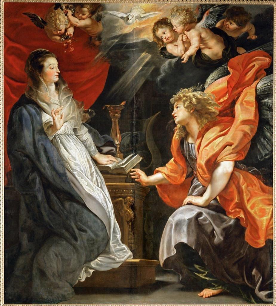 Ängeln kommer till Maria!