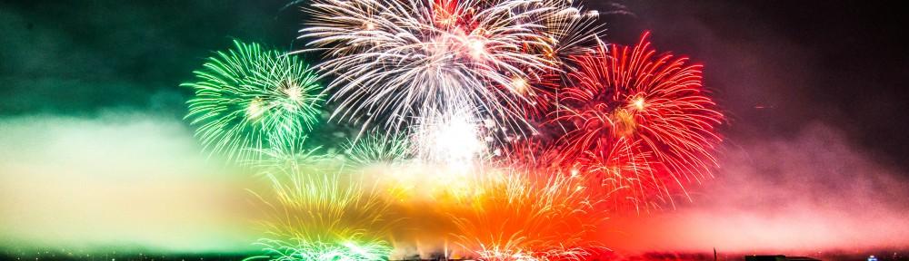 Fyrverkerier under festivalen Celebration of Light i Italien 2012. Foto: CC BY-SA 2.0 Colin Knowles, flickr.com