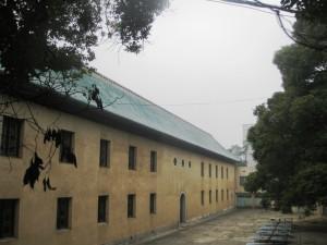 Den vackra gamla skolbyggnaden är idag ett av kinesiska staten skyddat kulturminnesmärke. Foto: Per-Martin Hjort