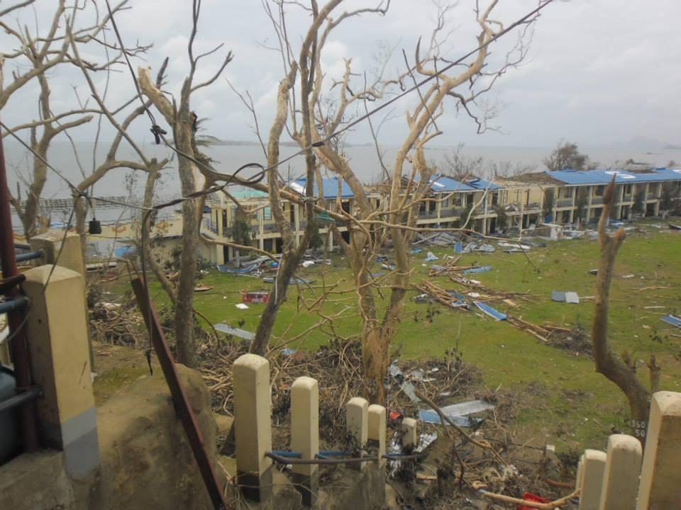 Marco nr 4 förstörd byggnad