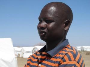 Jacob Kuol Pareng var ansvarig för Lutherska världsförbundets skolverksamhet i flyktinglägren i Maban i Sydsudan. Nu har han själv tvingats på flykt. Foto: Ann Jonsson