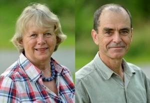 Anette och Peter Murless