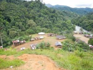 Projektet har fokuserat på byar som ligger i svårtillgängliga områden. Foto: LWF Colombia
