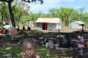 Svenska kyrkan stödjer ACT-alliansens arbete för människor som tvingats fly Sydsudan.