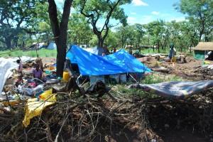 Till Uganda kommer många av de sydsudaneser som nu flyr sitt hemland