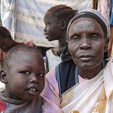 Tabisha Nyabol flykting från Sydsudan