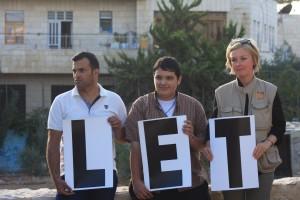 """Rubriken """"Let my people go"""" är inte bara en rubrik utan i lika stor utsträckning en bön; vi ber för dem som är fängslade på orättvisa och orättfärdiga grunder, för dem som förtycks av ockupation och för att vi alla ska befrias från fördomar, hat och våld. Foto: Anna Hjälm"""