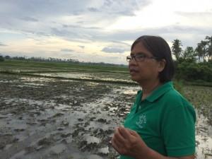 Lily Flordelis arbetar vid barnrättsorganisationens gård, Bahay Tuluan, i Filippinerna.