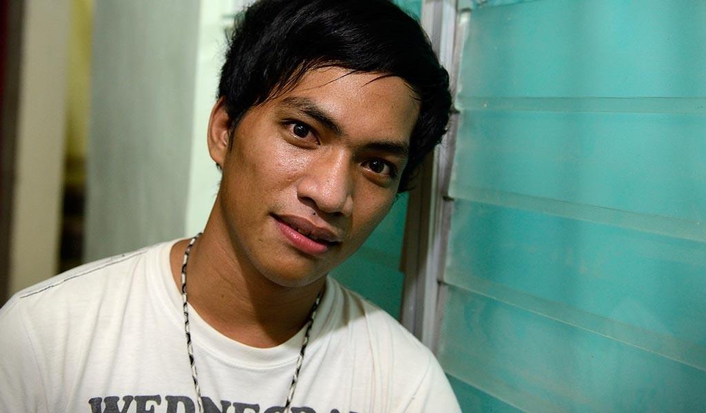 Roberto, 18 år, kom till Bahay Tuluyan när han var tolv år. Foto: Magnus Aronson /IKON