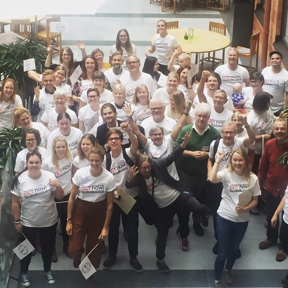 I helgen återsamlas klimatambassadörerna i Stockholm och kommer se till att kravet på klimaträttvisa hörs över världen.