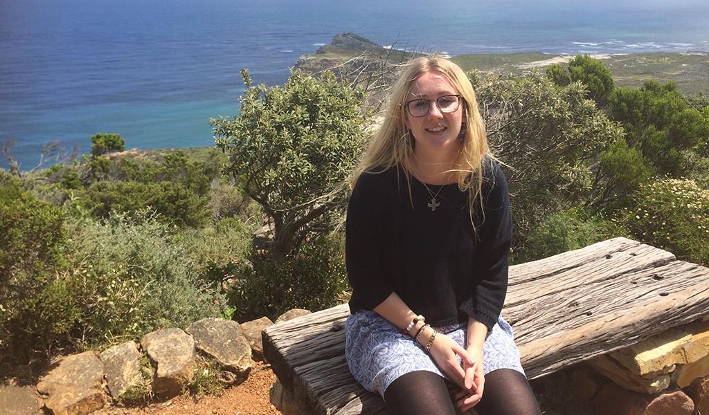 Sofie Halvarsson, internationellt ombud i Örgryte, reste till Sydafrika tidigare i höstas och besökte bland annat Philani.