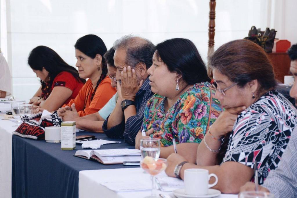 möte med ASP som är en organisation som håller samman 100 organisationer av kvinno urfolks och bondeorganisationer