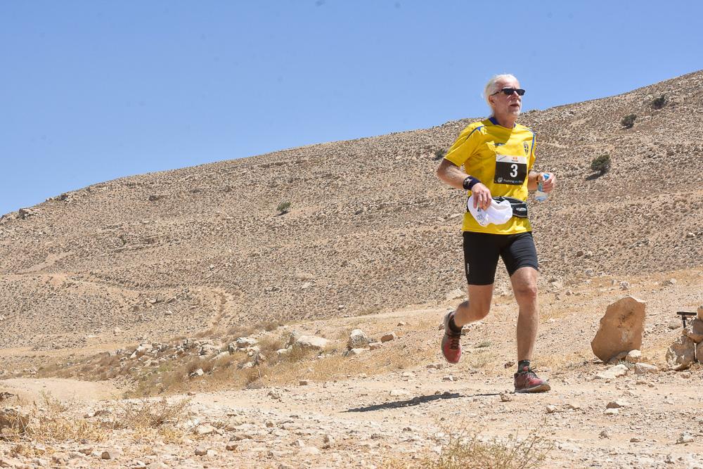 Håkan Jonsson springer sitt hittills tuffaste maraton i Petra, Jordanien.
