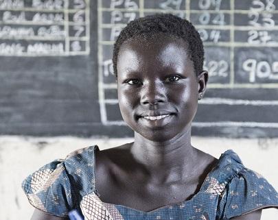 Elizabeth, 17 år, student och fredsambassadör. Foto:  Sofi Lundin/IKON